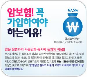 """한국인의 3대 사망원인, """"진단비 보험""""으로 대비!"""